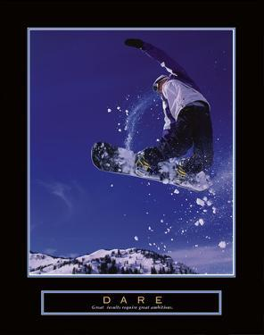 Dare – Snowboarder by Unknown