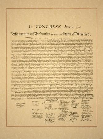 Declaration of Independence by Unknown