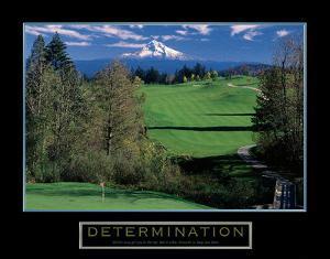 Determination – Golf by Unknown