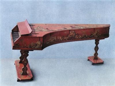 'Eighteenth century harpsichord', 1948 by Unknown