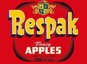 Fancy Apples - Respak Brand by Unknown