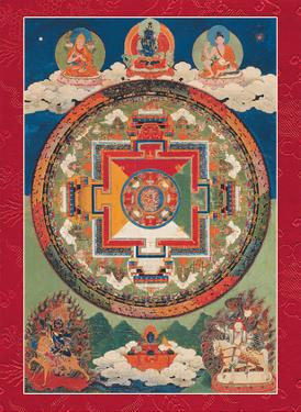 Five Deity Mandala of Vajravarahi by Unknown