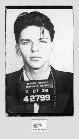 Frank Sinatra – Mugshot by Unknown