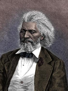 Frederick Douglass (1817-1895), American diplomat, abolitionist and writer, 1875 by Unknown