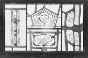 French Garden Blueprint III by Unknown