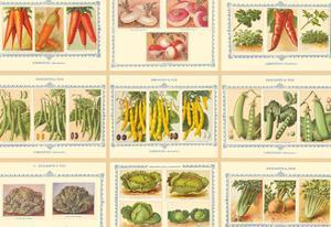 French Seed Packet Collage - Denaiffe and Son by Unknown