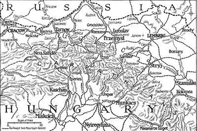 'Galicia and the Carpathian Passes', 1915