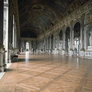 Gallery of Mirrors in the Palace of Versailles, 17th century by Unknown