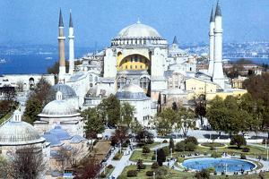 Hagia Sophia, Istanbul (Constantinople), Turkey, 1980s. Artist: Unknown by Unknown