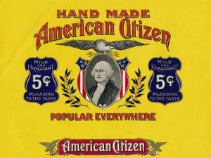 'Hand Made American Citizen', c20th century by Unknown