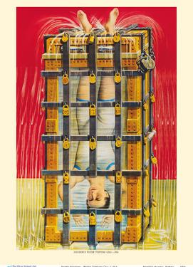 Harry Houdini - Water Torture Cell by Unknown