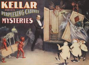 Harry Kellar and His Perplexing Cabinet Mysteries by Unknown