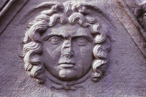 Hellenistic Gorgon from a Sarcophagus from Asia Minor (Turkey), 20th century by Unknown