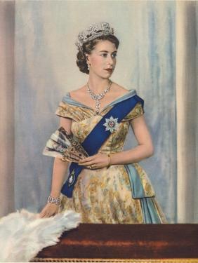 'Her Majesty Queen Elizabeth II', c1953 by Unknown