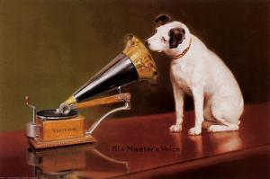 His Master's Voice by Unknown