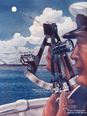 'How A Ship's Captain Uses The Sextant', 1935 by Unknown