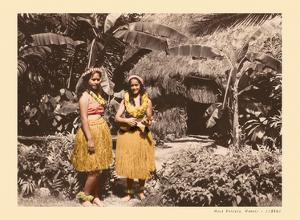 Hula Girls Hawaii by Unknown