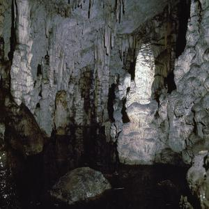 Inside the Diktaen cave by Unknown