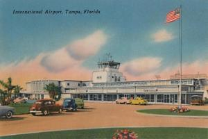 'International Airport, Tampa, Florida', c1940s by Unknown