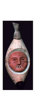 Inuit wooden mask by Unknown