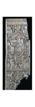 Ivory leaf of a consular diptych of Flavius Anastasius, 6th century by Unknown