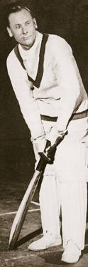 Jack Hobbs, English cricketer, 1925 by Unknown