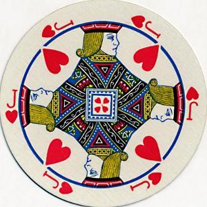 'Jack of Hearts', c1929 by Unknown