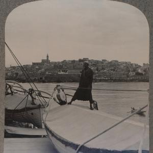 'Jaffa (the ancient Joppa) from the Sea', c1900 by Unknown