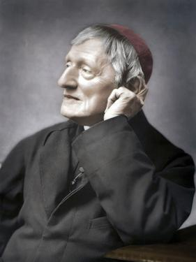 John Henry Newman, British cardinal, late 19th century by Unknown