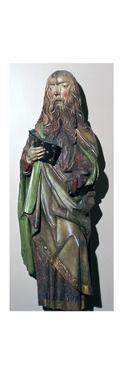 Limewood statuette of St Paul, 16th century by Unknown