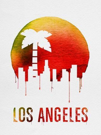 Los Angeles Landmark Red