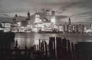 Manhattan Skyline by Unknown