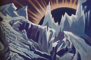 'Mercury's Eternal Night', c1935 by Unknown
