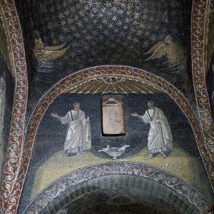 Mosaic of St Paul and St Peter in the Mausoleum of Galla Placidia, 5th century by Unknown