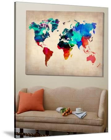 World Watercolor Map 1 by Unknown NaxArt