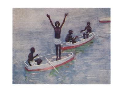 'Negro Boys at Barbados', 1924