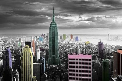 New York - Color Splash by Unknown