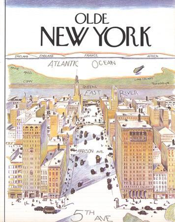 Olde New York (Small) by Unknown