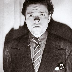 Orson Welles, American actor and film director, 30 October 1938 by Unknown