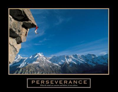 Perseverance – Cliffhanger by Unknown