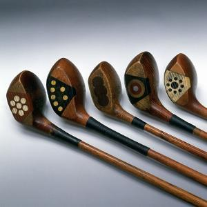 'Pretty faces' golf clubs, 1920s by Unknown
