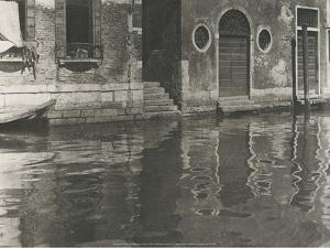 Reflections, Venice, 1897 by Unknown