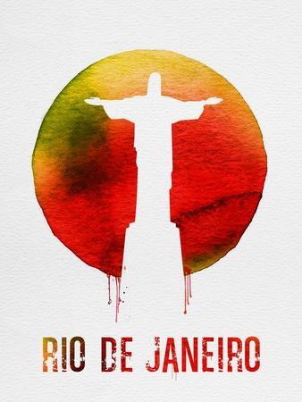 Rio De Janeiro Landmark Red