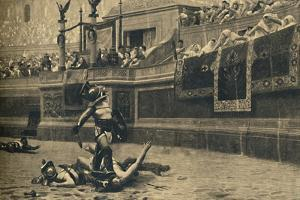 'Roma - Colosseum - Thumbs down in a gladiatorial fight', 1910 by Unknown