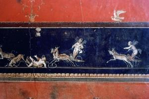 Roman mural, House of the Vettii, Pompeii, Italy. Artist: Unknown by Unknown