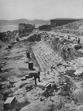 'Ruins of the Great Temple of the Mysteries at Eleusis', 1913 by Unknown