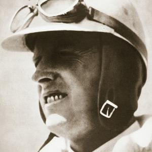 Sir Henry Segrave, American-born British world speed record driver, 1930 by Unknown