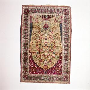 South Persian Prayer Rug, 18th century by Unknown