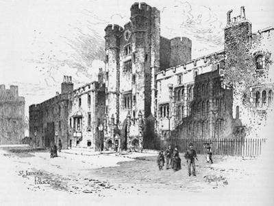 'St. James's Palace', 1886 by Unknown
