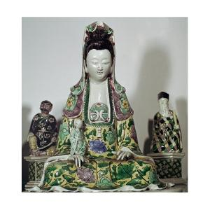 Statuette Chinese of Kuan-Yin, 17th century by Unknown